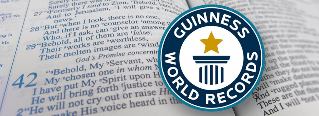 Record, World, Guinness, Preaching, Zach, Zehnder, The Cross