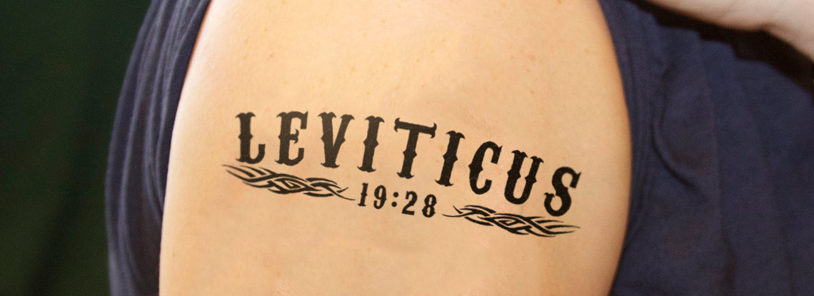 Scripture and tattoos clamp divinity school for Leviticus on tattoos