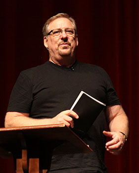 Rick Warren Broadus Lectures on Preaching