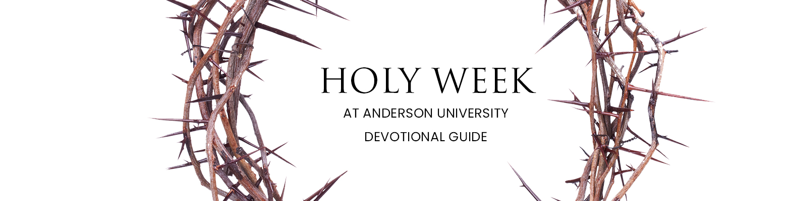 Holy Week Header