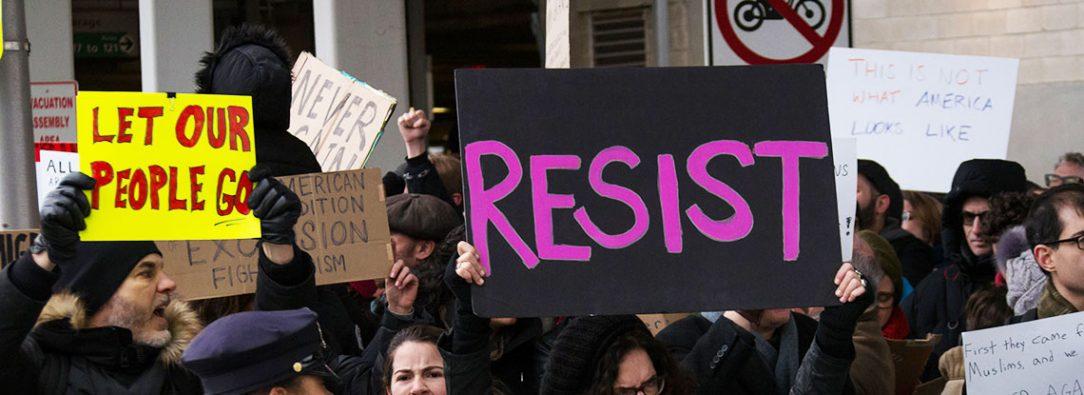 Refugees Protest