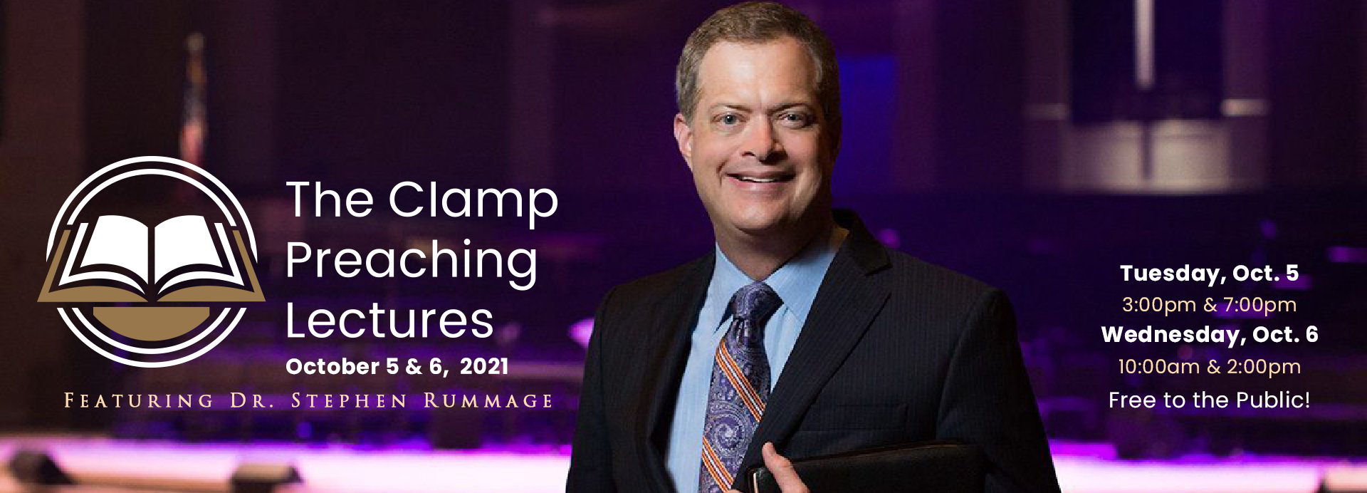 The Clamp Preaching Lectures with Stephen Rummage